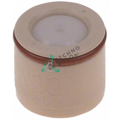 Клапан воздушный ø2/ø20мм L-18мм 2069.0108 20690108 для пароконвектомата Rational CD101, CD102, CD201, CD202 и др.