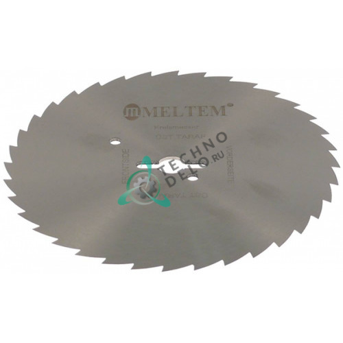 Нож зубчатый Meltem ø120мм/ø10мм электрического ножа для шаурмы
