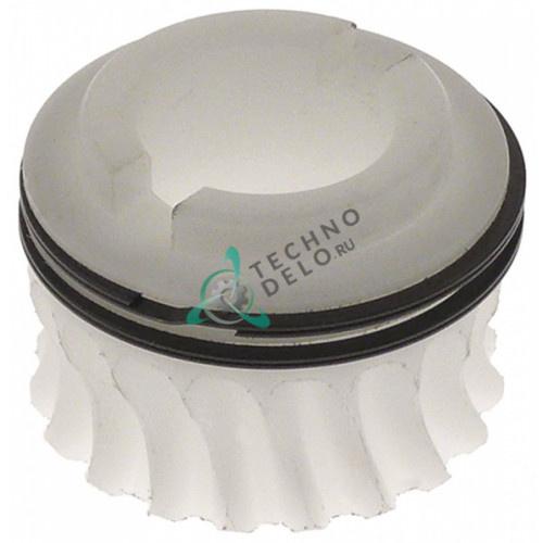 Звёздочка (малое зубчатое колесо) ø47/ø25мм L-34мм DLX30043 для тестораскатки Mecnosud с 2014г.