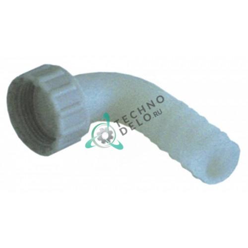 Соединитель (штуцер угловой) Z1AD011 льдогенератора Scotsman, Simag