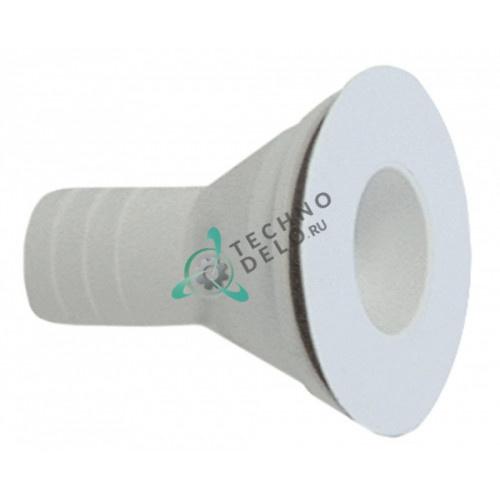 Соединитель штуцер 910067 RH003285 шланговый для льдогенератора Eurfrigor