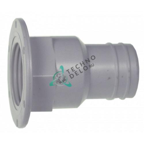 Соединитель штуцер шланговый K00039 льдогенератора Kastel HS22/KP100-60 и др.