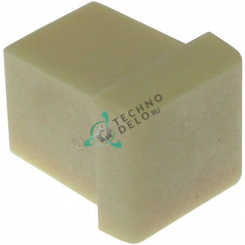 Крышка торцевая 10012 (заглушка 16x16мм) распылителя льдогенератора Brema
