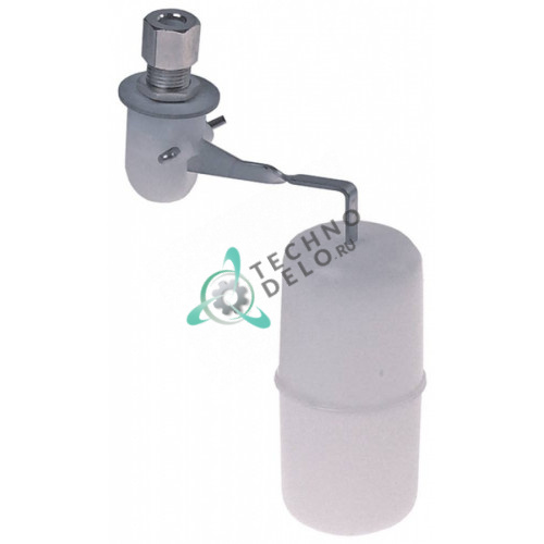 Клапан поплавковый резьба M11 L130мм ø37мм 02002217.02 для Electrolux, Icematic, Scotsman, Simag и др.