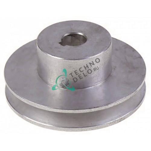 Шкив алюминиевый ø106/ø18мм 73459741 льдогенератора Scotsman