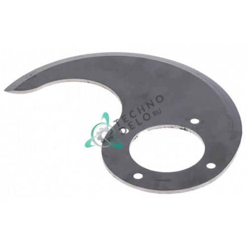 Нож нижний MSC15N072 L128мм ø48мм куттера Sirman C15