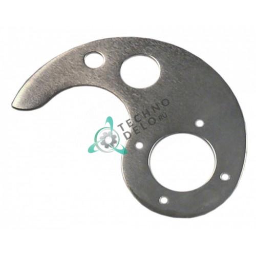 Нож нижний смесительный MSC04N072F куттера Sirman C4-C6