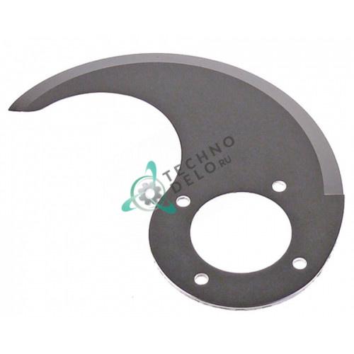 Нож верхний MSC04N064 для куттера Sirman C4-C6