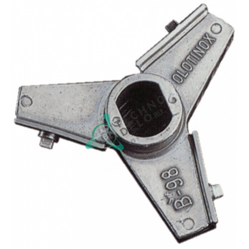 Нож Unger E-130 (42) Ø по окружности 120мм нержавеющая сталь с лезвиями