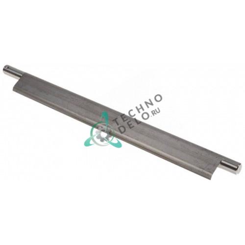 Скребок очищающий металлический передний L-355мм для тестораскатки Mecnosud