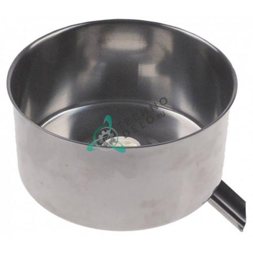 Емкость (чаша) ø180 отверстие ø34мм H-87мм CNS CO1447 для соковыжималки цитрусовых Fimar AGRL, TFA3P