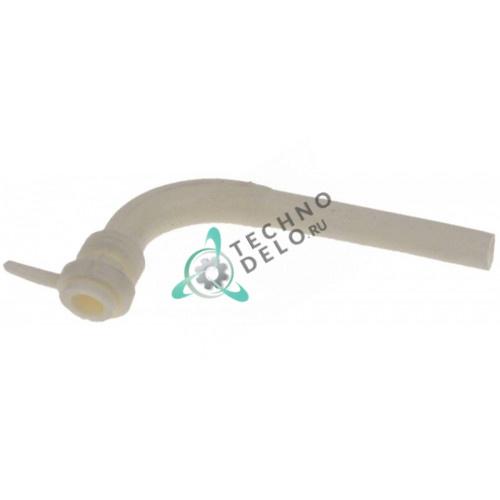 Трубка 22800-11500 ø10мм L-90мм гнутая для крана дозатора охлажденных напитков Bras AB-BS, Ugolini HT 10-1/HT 10-2 и др.