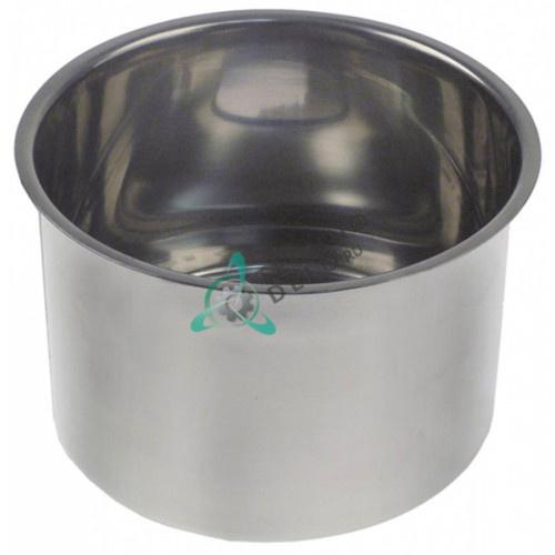 Емкость ø175 H-110мм отверстие ø42мм CNS 900963 для соковыжималки цитрусовых Hendi 221204, Horeca Select