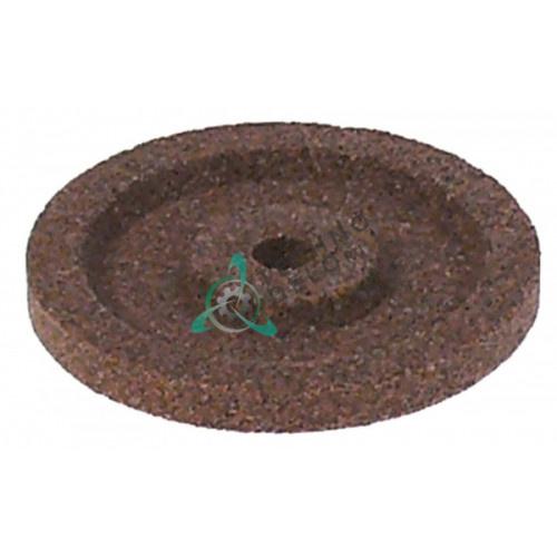 Заточной камень ø50мм/ø6мм (крупный абразив) AVG470, M6601 для ножа слайсера Sirman, Omas, Bizerba и др.