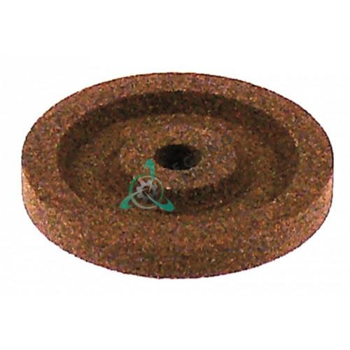 Заточной камень ø40мм/ø6мм (мелкий абразив) для ножа слайсера / универсальный