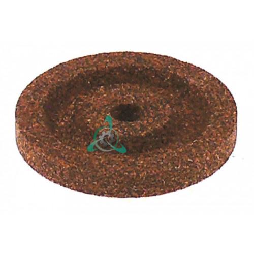 Заточной камень ø40мм/ø6мм (крупный абразив) для ножа слайсера / универсальный