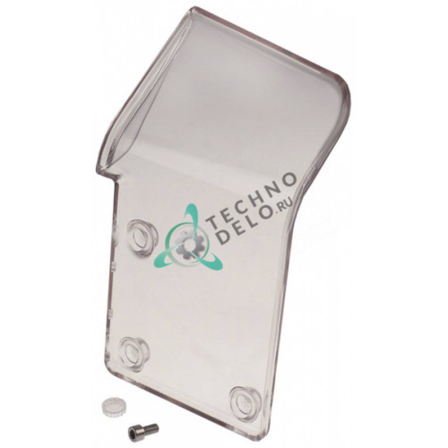 Защита пластиковая 250x150x4 мм для слайсера Manconi 350 Inclinata CE