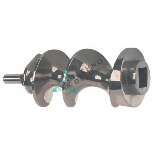 Шнек 12 модель ø53мм L-115мм нержавеющая сталь гнездо 17x17мм IV2520505L LF2037072 для Sirman TC12M