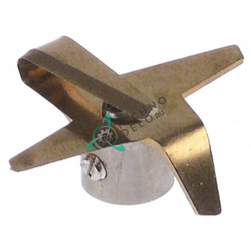 Нож (4-х лучевой) ø39мм/ø4мм H18м блендера Dynamic, Horeca Select и др.