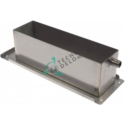 Ванна (емкость металлическая 510X180X145 мм) 050045.01 расстоечной камеры MIWE