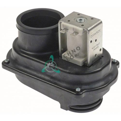 Заслонка осушения 155x94x124мм с электромагнитным клапаном 220VAC 6056326 пароконвектомата Convotherm 4