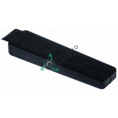 Крышка 23x95мм 69010200 LA69010200 LAR69010200 для ручки двери печи Lainox A05PES/A05RES/A08RES и др.