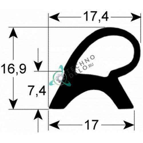 Уплотнитель 640x720мм 055315 для печи Electrolux, Juno, Whirlpool, Zanussi
