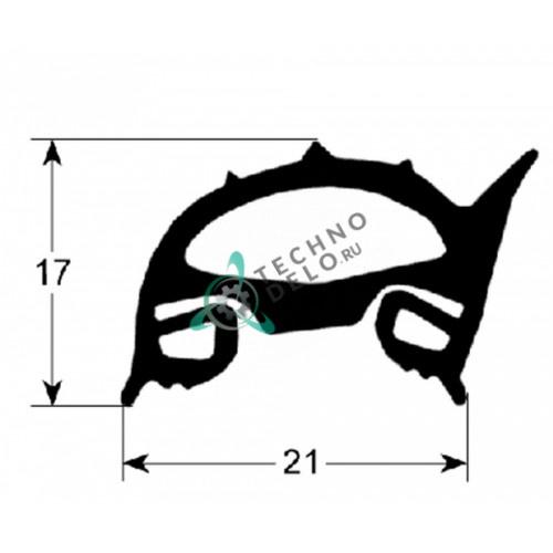 Уплотнитель (780x450мм) 3108700 для конвекционной печи Baron, Metos, Olis и др.