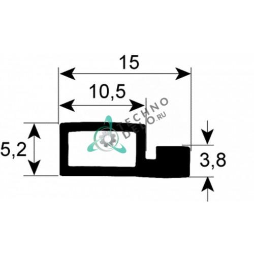 Уплотнение двери (1м) 054112 для конвекционной печи Zanussi-Electrolux