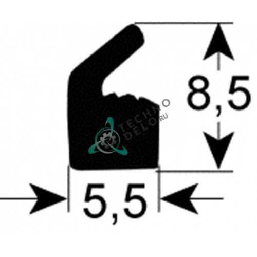 Уплотнитель под крышку 0320215 (L-1000мм) для вакуумного упаковщика Henkelman Boxer, Jumbo и др.