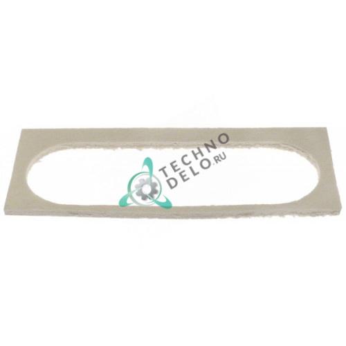 Уплотнитель 332-128 мм под стекло из базальт волокно для печей Angelo Po, Italforni и др.