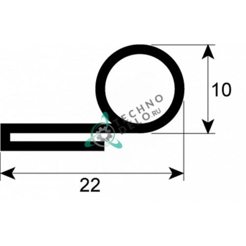 Уплотнитель двери для печи MCGP0002 Coven TEC