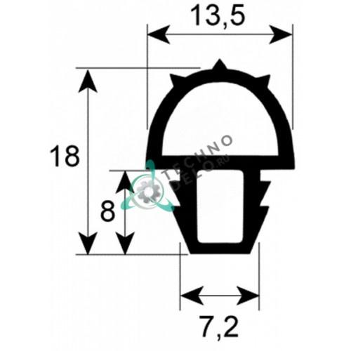 Уплотнитель двери для печи MCGP3/4P Coven
