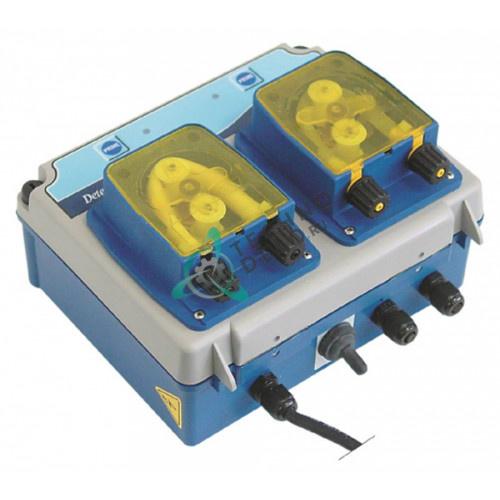 Дозатор двойной SEKO Twin10 моющего и ополаскивающего средства