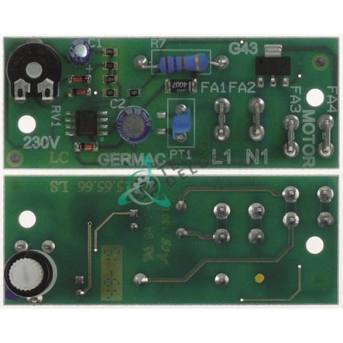Плата электронная GERMAC 847.361558 spare parts uni