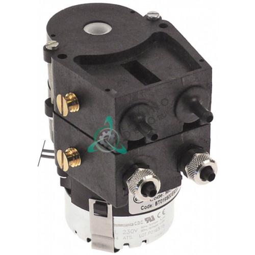 Дозатор-насос двойной Bores Perios P2 0,16/0,07л/ч 230VAC моющее/ополаскиватель
