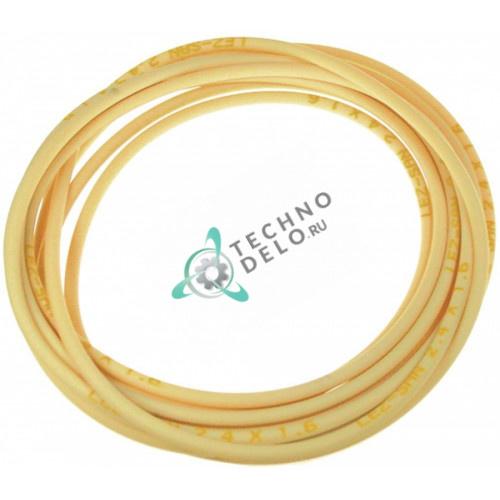 Шланг сантопрен для дозатора моющей химии / LEZ-SAN 5x1.5мм, L - 5 метров