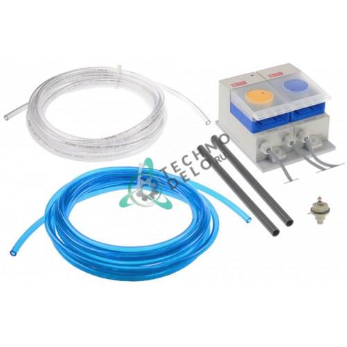 Дозатор насос двойной Saier Compact Duo L 230VAC моющее/ополаскивающее средство