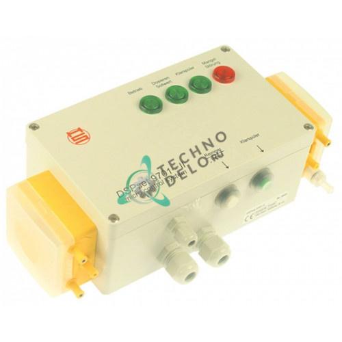 Дозатор насос двойной Saier DSPset 9701-II 230VAC IP65 моющее/ополаскиватель