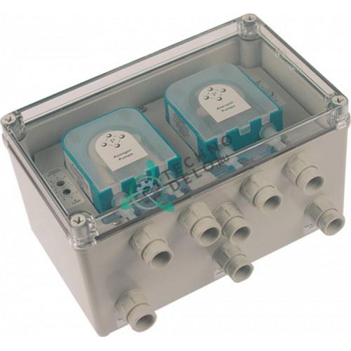 Дозатор двойной PLAS-CONT DUOPLUS 6.15 230VAC IP65 ополаскиватель/моющее средство