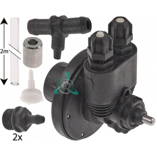 Дозатор-насос ополаскивателя ø4x6мм 914207 148715 для Aristarco, Bonnet, Lasa, Thirode и др.