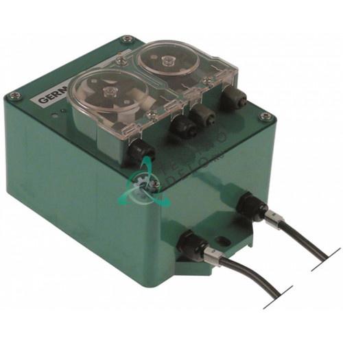 Дозатор-насос AQUA Germac G705 230VAC моющее/ополаскиватель шланговое соединение 6 мм
