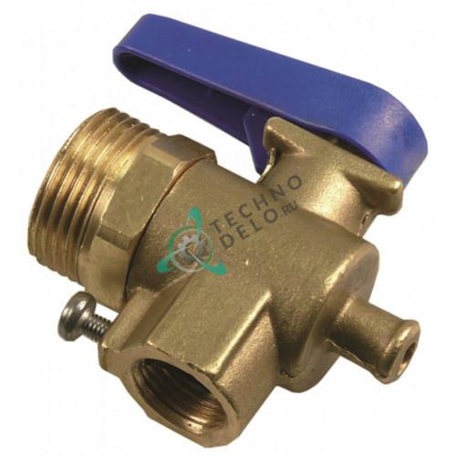 Кран ATEL 23-029 3/4 для водоумягчителя De Vecchi LT5-LT20 и др.