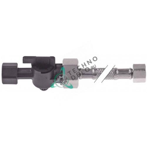 Шланг гибкий Brita 3/8 DN8мм L-1500мм CNS с клапаном