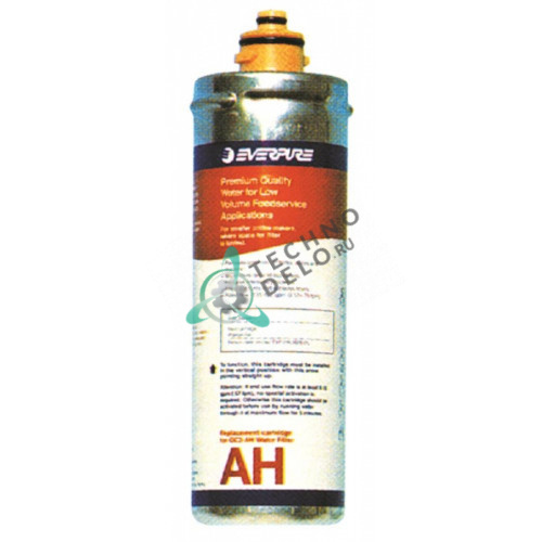 Фильтр водяной Everpure AH 114 л/ч D-80мм H-260мм 0,5мкм под тип головки QL2/QL3 для кофейного оборудования и др.