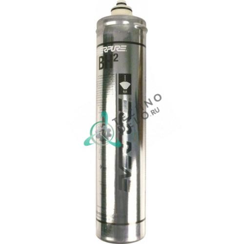 Фильтр водяной Everpure BH2 114 л/ч 0,5 мкм D-80мм H-370мм под тип головки QL2/QL3 для кофемашины и др.