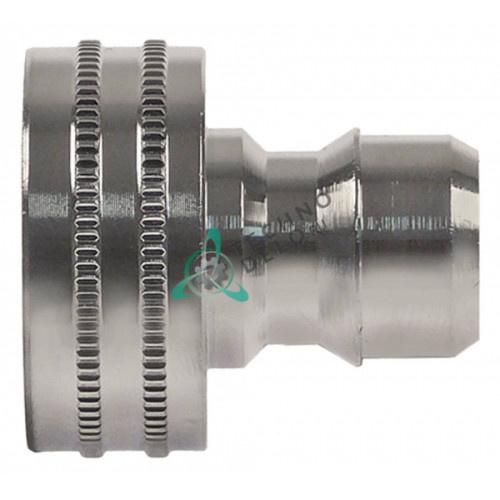 Фитинг соединительный (коннектор) 3/4″ тип DN13 хромированная латунь для моющего пистолета