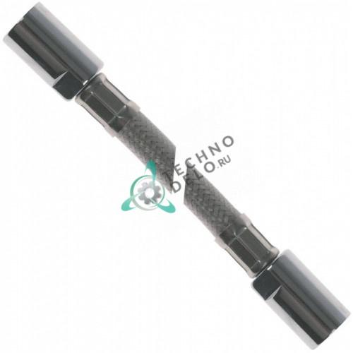 """Шланг L-1200мм 1/2"""" рабочее давление 10бар T.max. 90°C для ручного душа"""