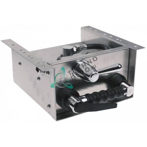 """Катушка в комплекте с ручным душем 1/2"""" шланг L-1.5м ø7x13мм материал CNS для CONVOTHERM и др."""