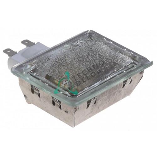 Лампа печи +500°C (монтаж 55x70мм/E14/230В/25Вт) термостойкий комплект с лампочкой